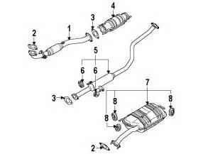 2003 Kia Sorento Exhaust System Diagram Kia Spectra Exhaust Diagram Kia Free Engine Image For
