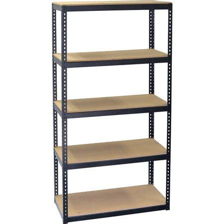 metal shelving walmart storagemax 5 shelf medium duty shelving
