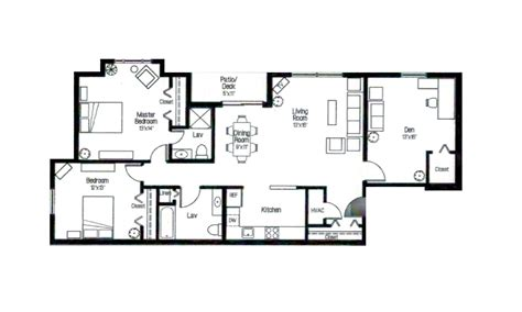 apartment floor plans two bedroom den two bath 1 bedroom 2 bedroom albany area apartments see apt