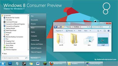 download themes for windows 7 of windows 8 download windows 8 theme for windows 7 by fediafedia