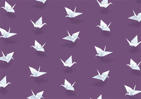 Origami Crane Pattern - related keywords suggestions for origami crane pattern