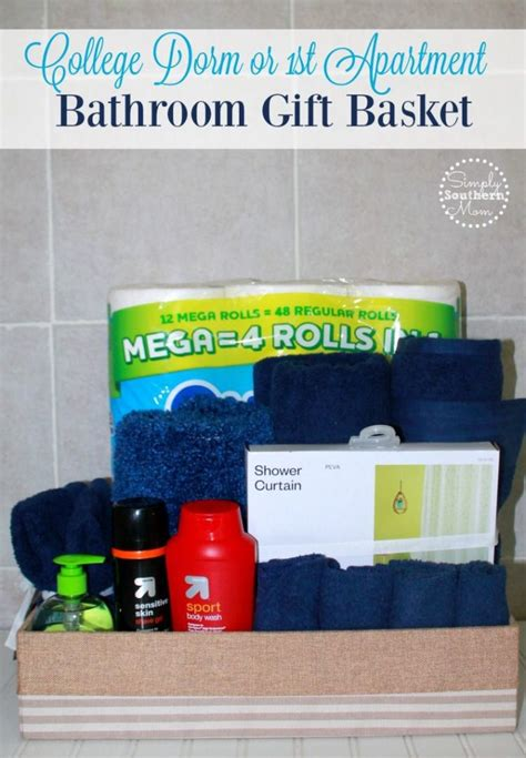 bathroom gifts how to make a bathroom gift basket for college students
