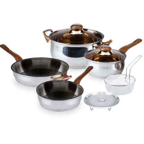 Panci Set Eco Cookware Oxone Ox 933 ox 911 panci basic cookware set oxone 4 2pcs oxone shop oxone shopping