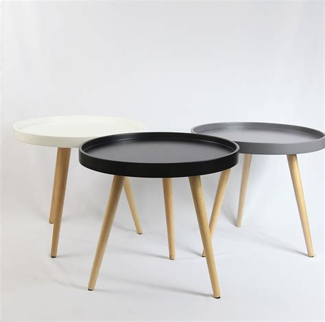 tray table coffee table solid wood in 50cm ebay