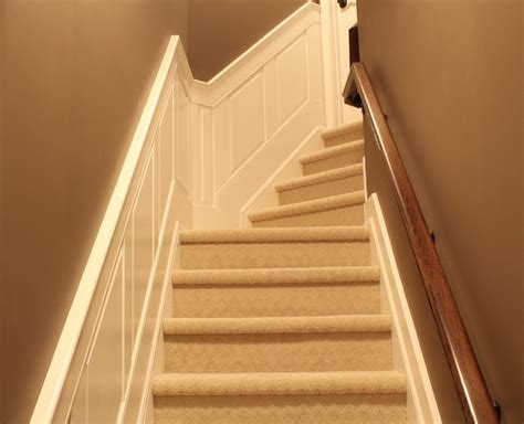 Wainscoting Panel Kits by Elite Raised Panel Wainscoting Stair Kit Paint Grade I