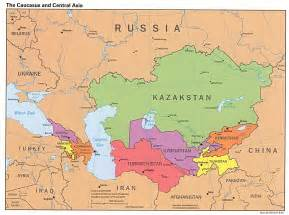 Map Central Asia by Asia Map Map Pictures