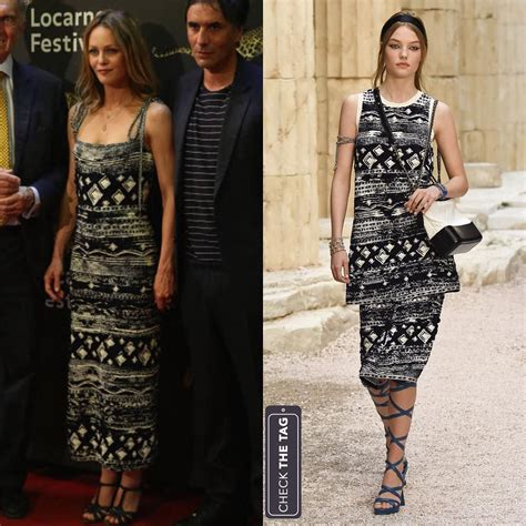 Catwalk To Carpet Paradis In Chanel by Who Paradis Wearing Chanel Resort 2018 Same
