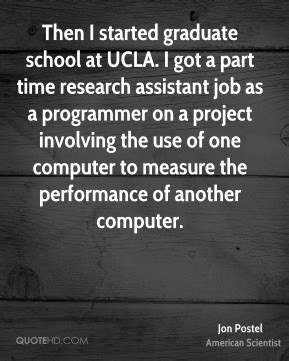 Research Assistant Part Time For Mba by Ucla Quotes Page 1 Quotehd