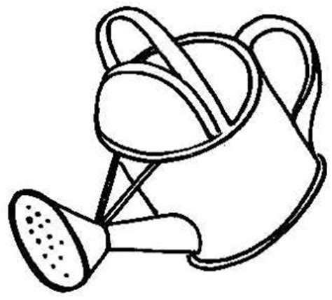 Chris Hughes Design Watering Can Watering Can Coloring Page