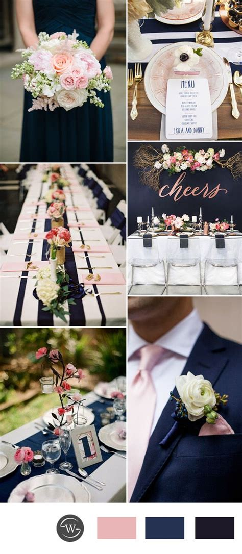 pink and blue wedding colors 25 best ideas about navy blue weddings on