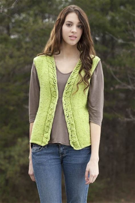 knitted vest patterns free vest knitting patterns in the loop knitting