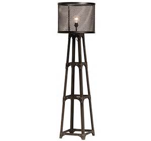 Barn Style Dining Room Table spencer industrial floor lamp
