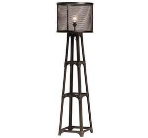 Spencer industrial floor lamp