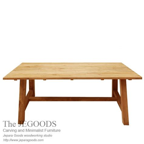 minimalist dining table home furniture manufacturer 187 kebun teak dining table outdoor living style furniture