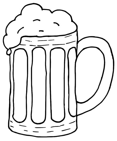 beer cartoon black and white beer mug clip art beer cliparting com