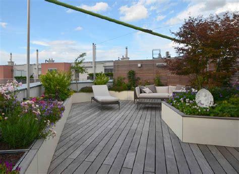 Dachterrasse Sichtschutz by Exklusive Dachterrasse Mit Sichtschutz Walli Wohnraum Garten