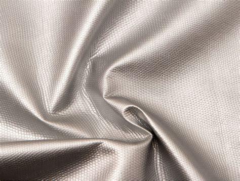 MJTrends: Snakeskin Fabric: Metallic Silver