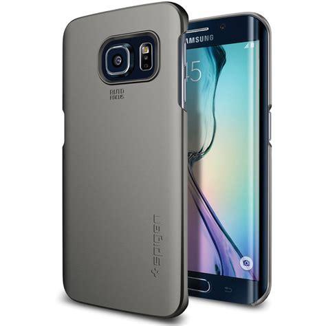 Spigen Samsung Galaxy S6 S6 Edge spigen thin fit for samsung galaxy s6 edge sgp11468 b h
