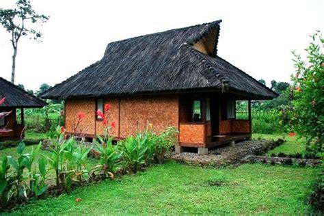 15 contoh gambar desain rumah adat provinsi jawa barat rumah adat jawa barat jolopong rumah tradisional