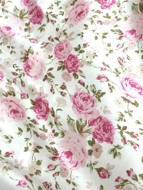 Flower Skirt Soft Pink ivory pink roses floral print soft satin smooth fabric
