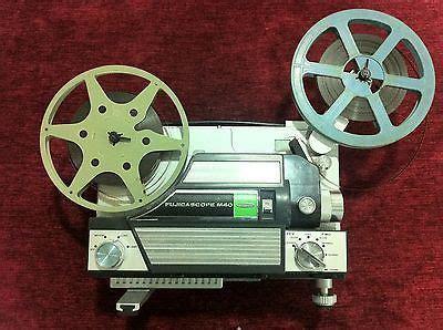 vintage fujicascope m40 8 mm movie projector in working