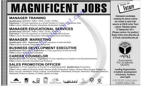 manager marketing sales staff required jobs in