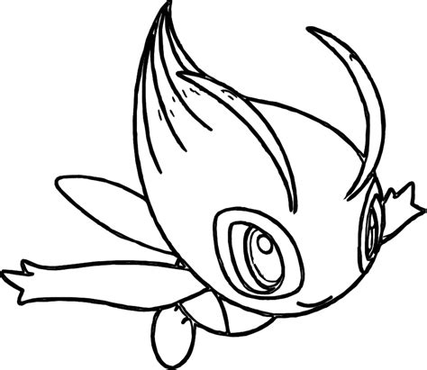 pokemon coloring pages celebi pokemon celebi coloring pages pokemon coloring pages kids