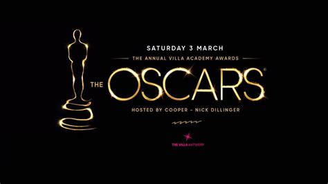 Is Ready For Its Big Day The Oscars by The Villa Oscars 03 03 2018 The Villa
