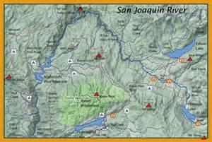 san joaquin california map san joaquin westside sierras