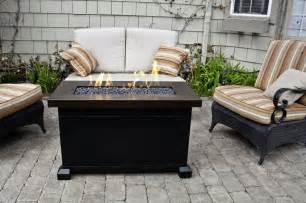 Firepit Patio Table 36 Newport Rectangle Table With Match Lid 1499 99 Now Only 799 99 Huntington