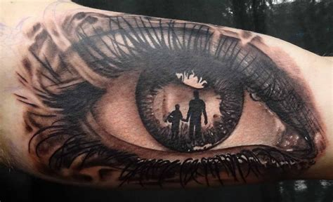 tattoos in eyes dragos dinu realistic eye design 1 sick tattoos