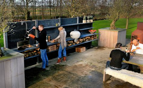 outdoor cooking modular outdoor kitchen with shower gardens
