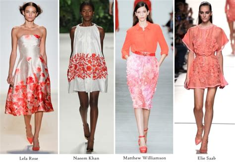 Summer 08 Trends Floral The Catwalk Looks by Summer 2014 Trends Florals Appleblossom