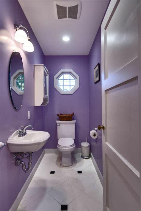 lila und gold badezimmer lila zimmer erscheinen als eyecatcher im haus