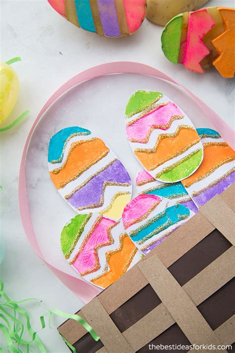 Paper Plate Basket Craft - easter paper plate basket the best ideas for