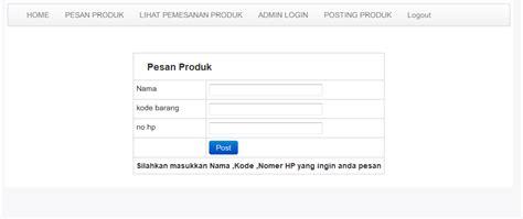 membuat web jual online membuat web jual beli dengan php dilengkapi dengan admin