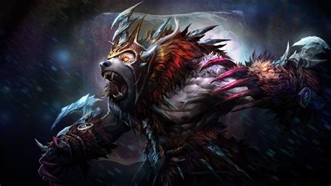 wallpaper dota 2 ursa full hd wallpaper ursa bear dota 2 armor cryogenic embrace