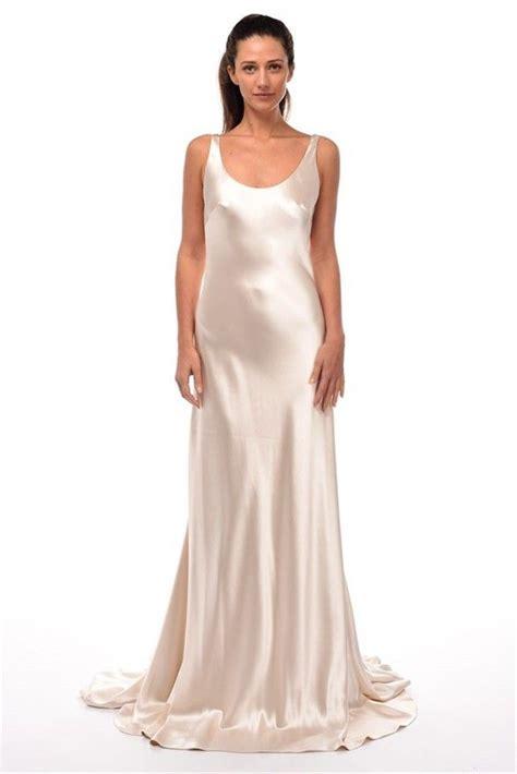 unique wedding dresses on a budget sleeveless organza ivory draped backless a line