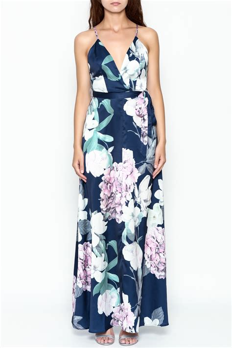 Blomming Maxi luxxel blooming maxi dress from new york city by dor l dor shoptiques
