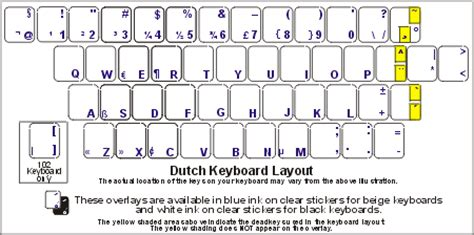 keyboard layout dutch dutch netherlands keyboard labels dsi computer keyboards
