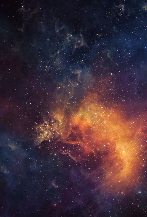 wallpaper for iphone universe starfield and nebula universe space universo espa 231 o