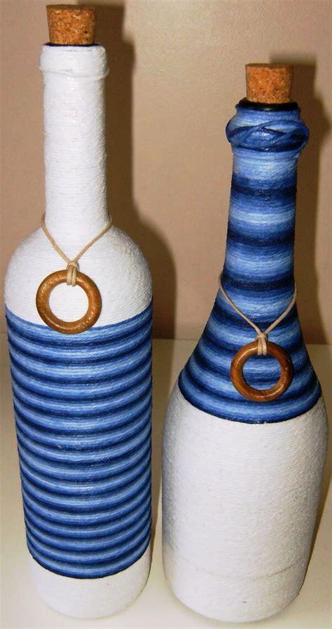 25 melhores ideias sobre garrafas decoradas com barbante