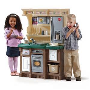 lifestyle custom kitchen play kitchen step2