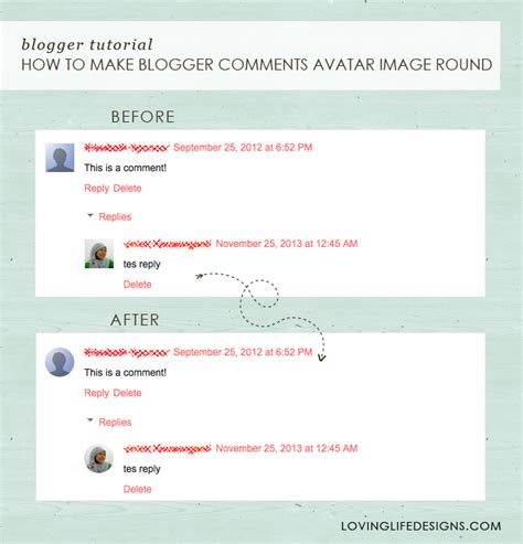 Blogger Comment Tutorial | loving life designs free graphic designs and printables