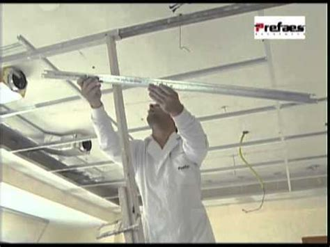 Suspended Ceiling Tiles Installation by One Drywall Installation On Ceiling Doovi