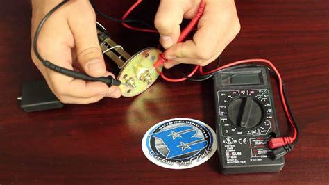 testing boat gauges how to find sending unit ohm range youtube