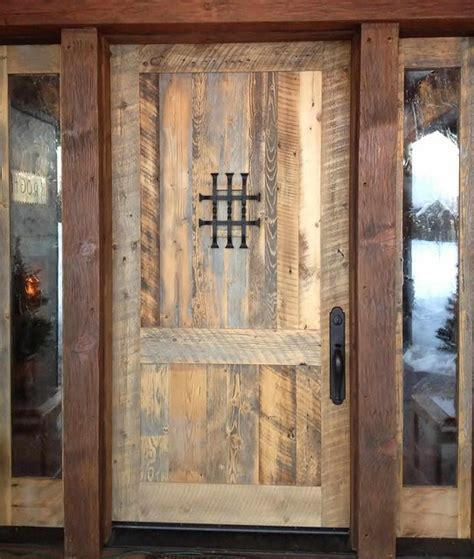 Reclaimed Front Doors Rlp Flooring Paneling Door Eclectic Entry Other Metro By Reclaimed Lumber Products