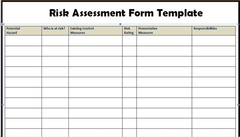 risk assessment report sle risk assessment report sle 28 images sle of an