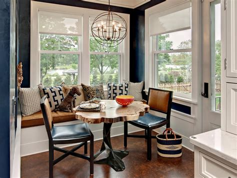 breakfast nook banquette seating photos hgtv