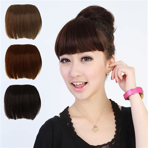 false bangs for thin hair aliexpress com buy free shipping sexy women girl false